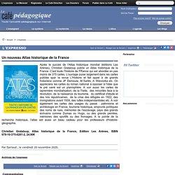 Un nouveau Atlas historique de la France