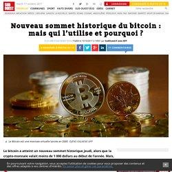 Nouveau sommet historique du bitcoin: mais qui l'utilise et pourquoi? - Sud Ouest.fr