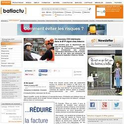 09/09 Un nouveau CDI intérimaire dans le BTP signé chez Adecco