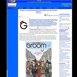 Groom, un nouveau journal d'actualité issu de l'univers Spirou.