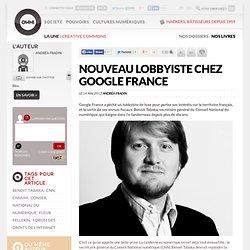 Un nouveau lobbyiste chez Google France