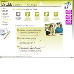 Nouveau Lycée 2011 : L'essentiel du nouveau lycée
