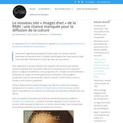 Le nouveau site «Images d'art» de la RMN : une chance manquée pour la diffusion de la culture