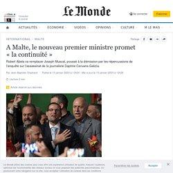 A Malte, le nouveau premier ministre promet «la continuité»