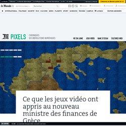 Ce que les jeux vidéo ont appris au nouveau ministre des finances de Grèce