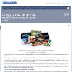 Le free to play, un nouveau modèle économique du jeu vidéo