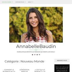 Nouveau Monde – AnnabelleBaudin