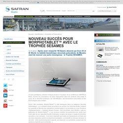 Nouveau succès pour MorphoTablet™ avec le Trophée SESAMES