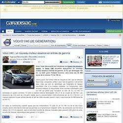 Volvo V40 : un nouveau moteur essence