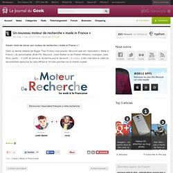 Un nouveau moteur de recherche «made in France»