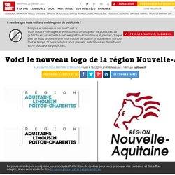 Voici le nouveau logo de la région Nouvelle-Aquitaine - Sud Ouest.fr