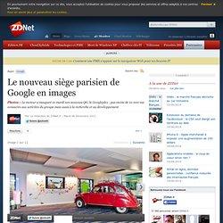 Le nouveau siège parisien de Google en images