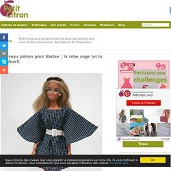 Nouveau patron pour Barbie : la robe ange (et la ceinture!)