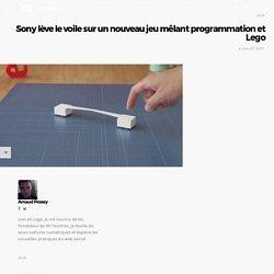 Sony lève le voile sur un nouveau jeu mêlant programmation et Lego ~ 101 Touches