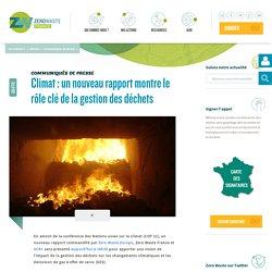 Climat : un nouveau rapport montre le rôle clé de la gestion des déchets