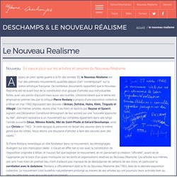 Gérard Deschamps, artiste du Nouveau Réalisme