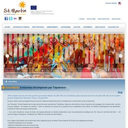 Saint-Martin à nouveau récompensé par Tripadvisor