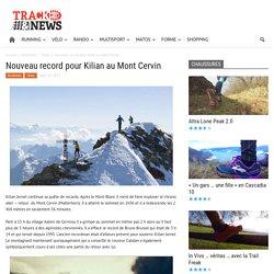 Nouveau record pour Kilian au Mont Cervin