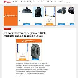 Un nouveau record de près de 9 000 migrants dans la jungle de Calais