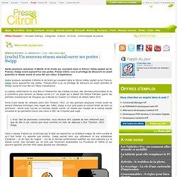 Un nouveau réseau social ouvre ses portes : Swipp