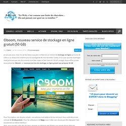 Oboom, nouveau service de stockage en ligne gratuit (50 GB)