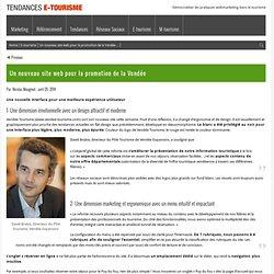 Un nouveau site web pour la promotion de la Vendée