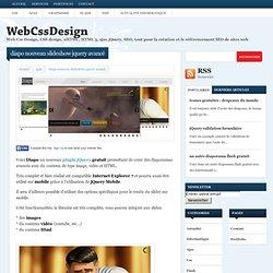 diapo nouveau slideshow jquery avancéWebCssDesign