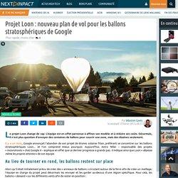 Projet Loon : nouveau plan de vol pour les ballons stratosphériques de Google