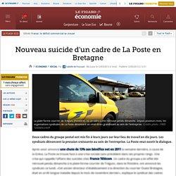 Nouveau suicide d'un cadre de La Poste en Bretagne
