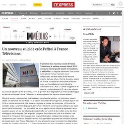 Un nouveau suicide crée l'effroi à France Télévisions.