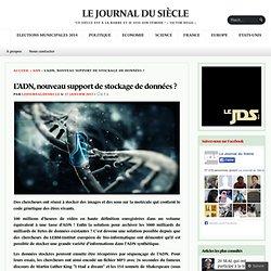 L'ADN, nouveau support de stockage de données ?