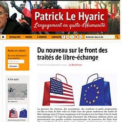Du nouveau sur le front des traités de libre-échange