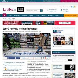 Sony à nouveau victime de piratage
