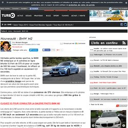 Nouveauté : BMW M2