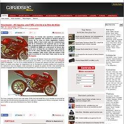 Nouveauté - MV Agusta: une F4RC s'invite à la fête de Milan - MV - Salon de Milan - Sportive