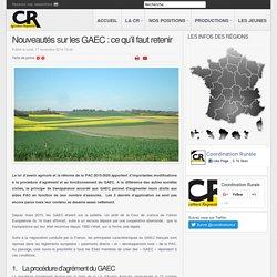 Nouveautés sur les GAEC : ce qu'il faut retenir