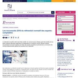 Les nouveautés 2016 du référentiel normatif des experts-comptables