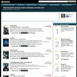 Nouveautés DVD Blu-Ray Science fiction | Film 2010 - 2011 classsés par date de sortie 1