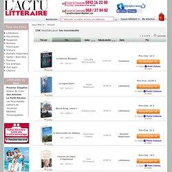 Livres nouveautes : une selection de livres meilleurs ventes, best-sellers de notre rayon nouveautes