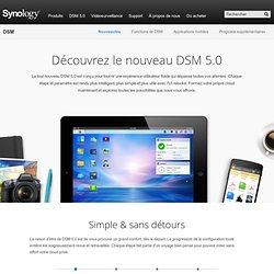 Vue en direct DSM3.1 Serveur de stockage sur réseau (NAS) Synology Inc. Nouvelle expérience NAS