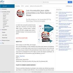 Les nouveautés jeux vidéo présentées à la Paris Games Week