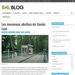 Les nouveaux abribus de Xavier Lust