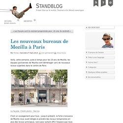 Mozilla ¦ Les nouveaux bureaux de Mozilla à Paris