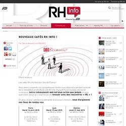 Nouveaux cafés RH info !