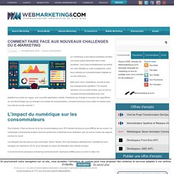 Comment faire face aux nouveaux challenges du e-marketing