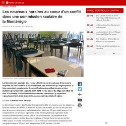Les nouveaux horaires au coeur d'un conflit dans une commission scolaire de la Montérégie