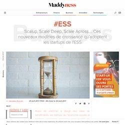 #ESS : Scalup, Scale Deep, Scale Across.... Ces nouveaux modèles de croissance qu'adoptent les startups de l'ESS - Maddyness