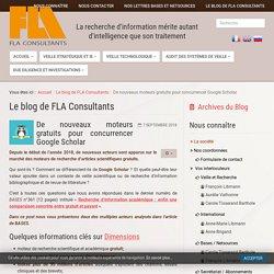 De nouveaux moteurs gratuits pour concurrencer Google Scholar