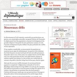 Nouveaux défis, par António Guterres