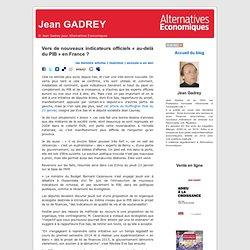 Vers de nouveaux indicateurs officiels « au-delà du PIB » en France ?